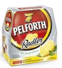 Bière Pelforth Citron Pack 6x25cl Gratuite