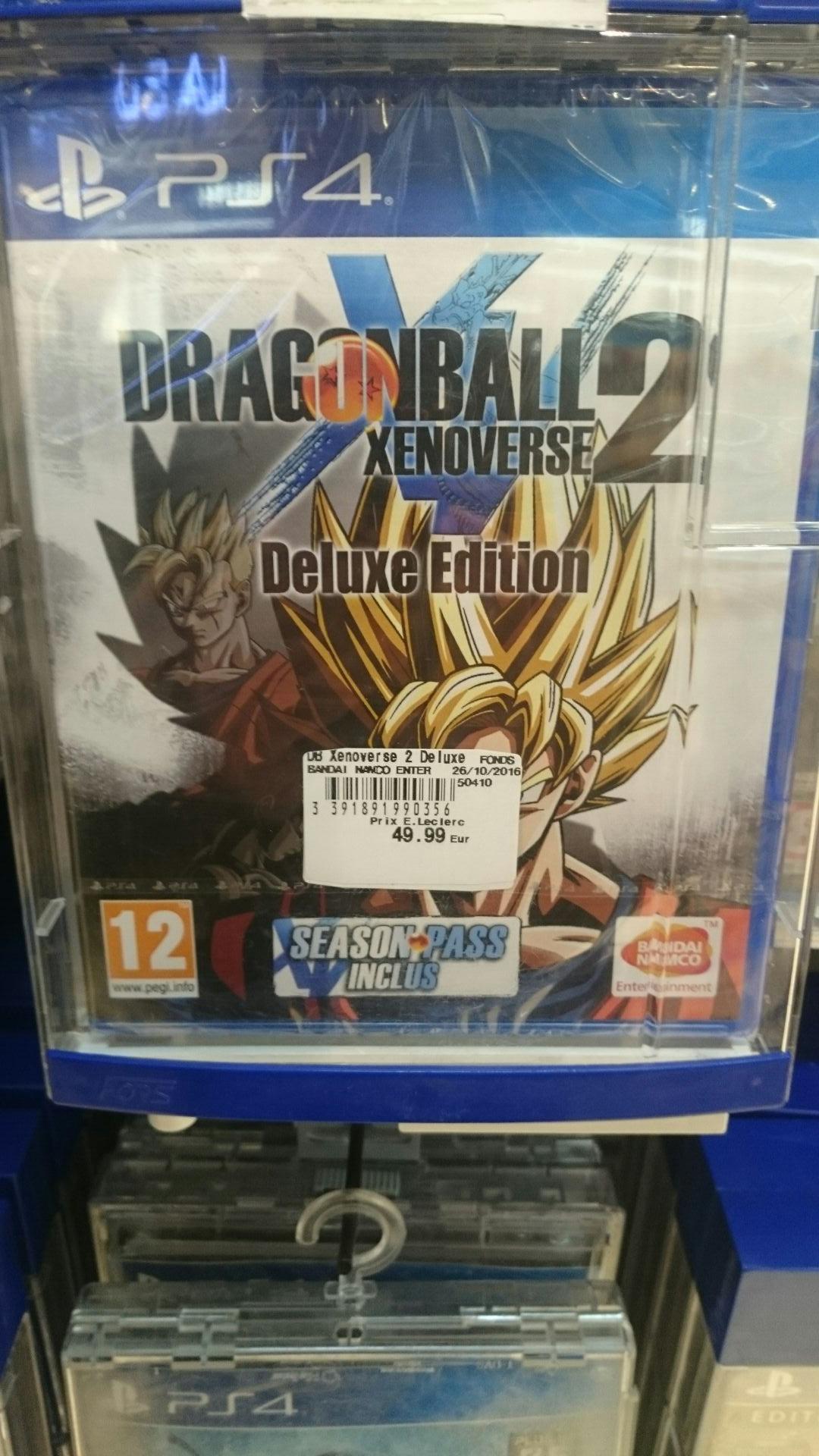 Jeu Dragon ball Xenoverse 2 sur PS4 - deluxe edition