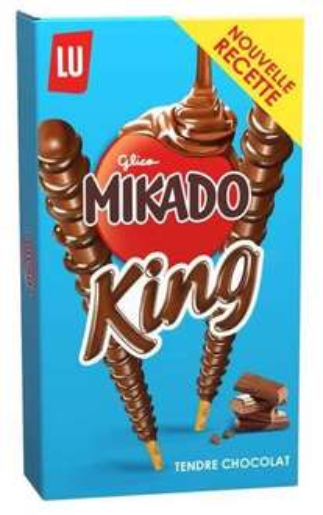 Paquet de Mikado King Tendre Chocolat gratuit (via Shopmium)