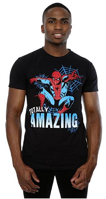 Tee-shirt Marvel Spider-Man Totally Amazing (du S au XXXL)