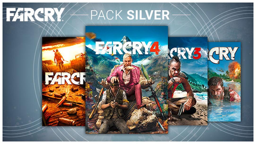 Sélection de Packs Far Cry en promo - Ex: Pack Silver avec Far Cry 1,2,3 et 4 + bandes-son sur PC (Dématérialisé - Uplay)