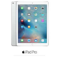 "Tablette 9.7"" Apple iPad Pro Cellulaire MLPX2NF/A Argent - iOS 9, A9X 64 bits, ROM 32 Go, WiFi/Bluetooth/4G"