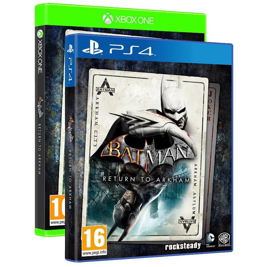 Batman Return to Arkham sur PS4 et Xbox One