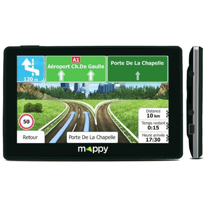 """GPS 4.3"""" Mappy ITI E-437T - Noir"""