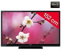 Téléviseur LED Sharp LC-60LE635E + Câble HDMI