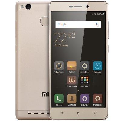 "Smartphone 5"" Xiaomi Redmi 3S Gold - Snapdragon 430, RAM 3 Go, ROM 32 Go"