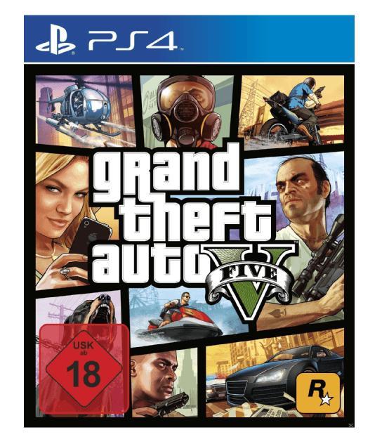 Sélection de produits en promotion - Ex: Jeu GTA 5 sur PS4 ou Xbox One
