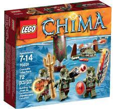 4 packs de Lego Chima (avec 33.5€ sur la carte)