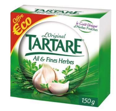Fromage Tartare - Différentes variétés (via 0.6€ de remise + BDR)