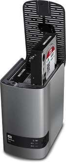 Disque dur externe 2 Baies Western Digital My Book Duo 4 To - 2x2To WD Red