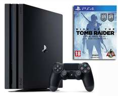 Console Sony PS4 Pro (1 To) + Rise of the Tomb Raider - 20ème Anniversaire