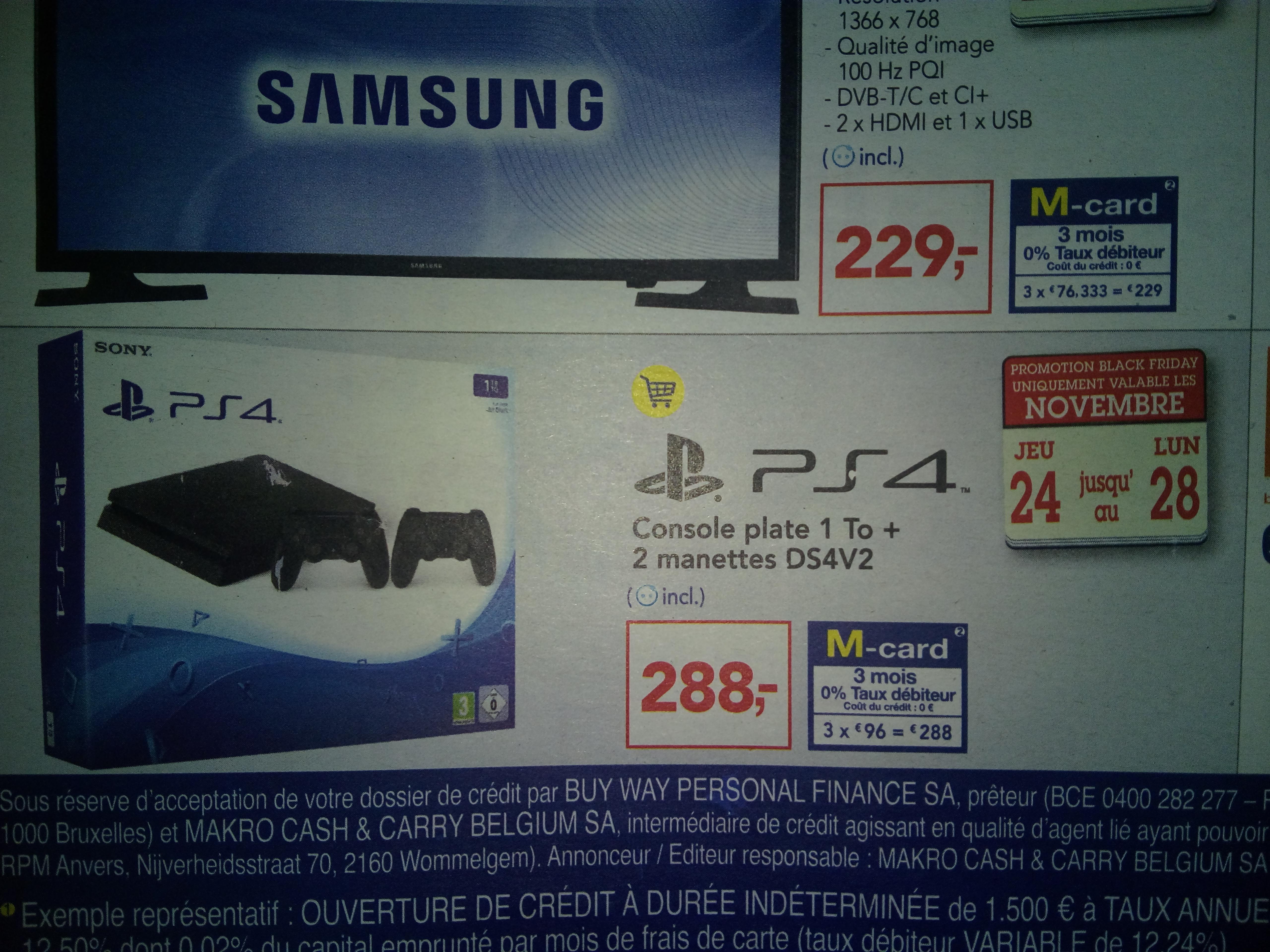 Sélection de produits en promotion - Ex : Console Sony Playstation 4 Slim 1 To + 2ème manette