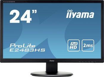 "Écran PC 24"" Iiyama ProLite E2483HS-B1 - Full HD, 1920x1080, 2 ms"