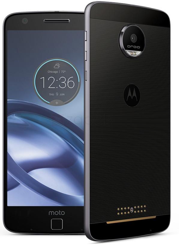 "Smartphone 5.5"" Lenovo Moto Z - Full 4G, Snapdragon 820, RAM 4 Go, ROM 64 Go (Version Internationale)"
