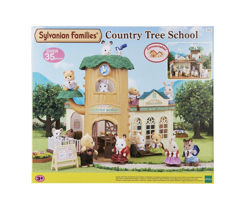 Maison De Poupée Sylvanian Families 5105 - Ecole De La Foret