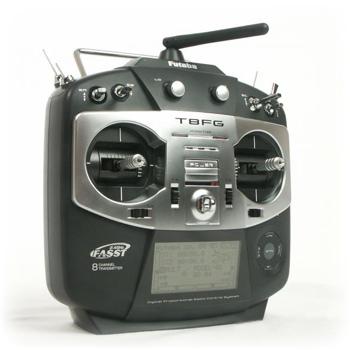 Radio Futaba 8FG 2,4GHz - 8 voies avec accu et chargeur