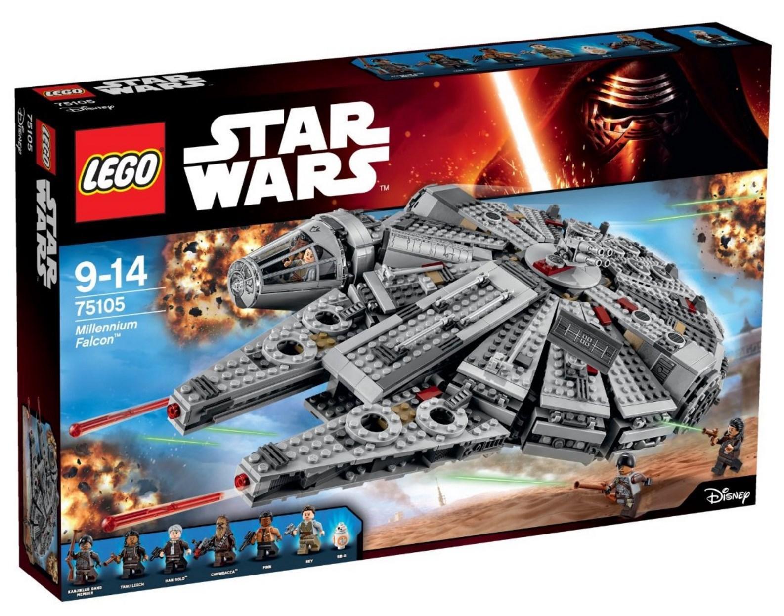 [Premium] Jeu de construction Lego Star Wars Faucon Millenium - n°75105
