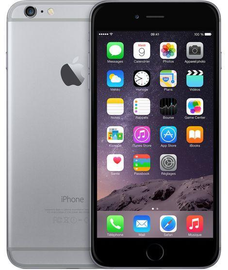 Smartphone Apple iPhone 6 - 16 Go, Gris (Reconditionné - Etat Correct)
