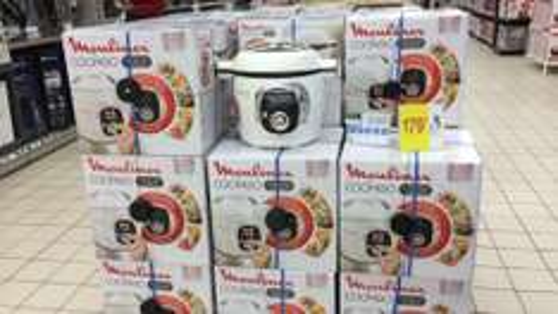 Multicuiseur intelligent Moulinex Cookeo CE7041 - 100 recettes