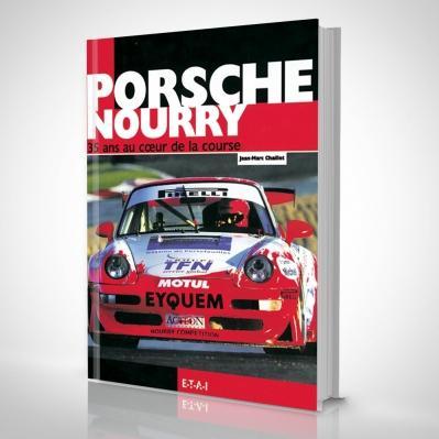 Sélection de livres de sport en promotion - Ex : Porsche Nourry, 35 ans au cœur de la course