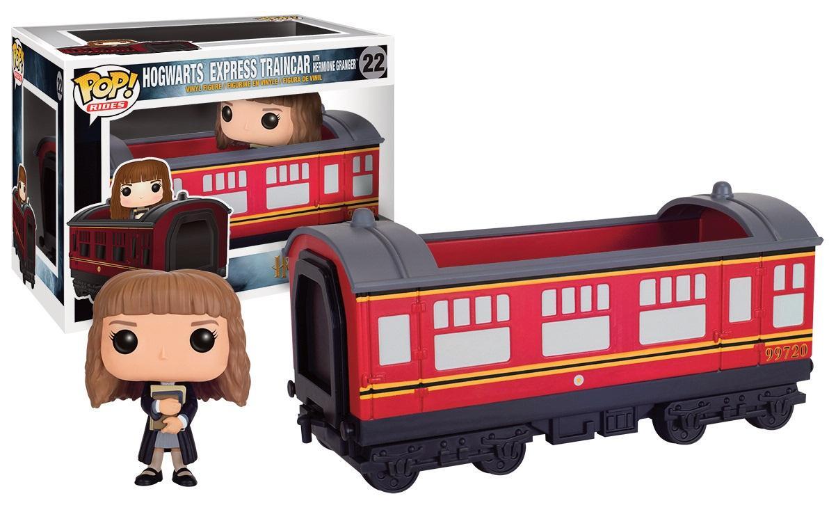 Figurine Funko Pop - Hermione Granger + Véhicule - Poudlard Express