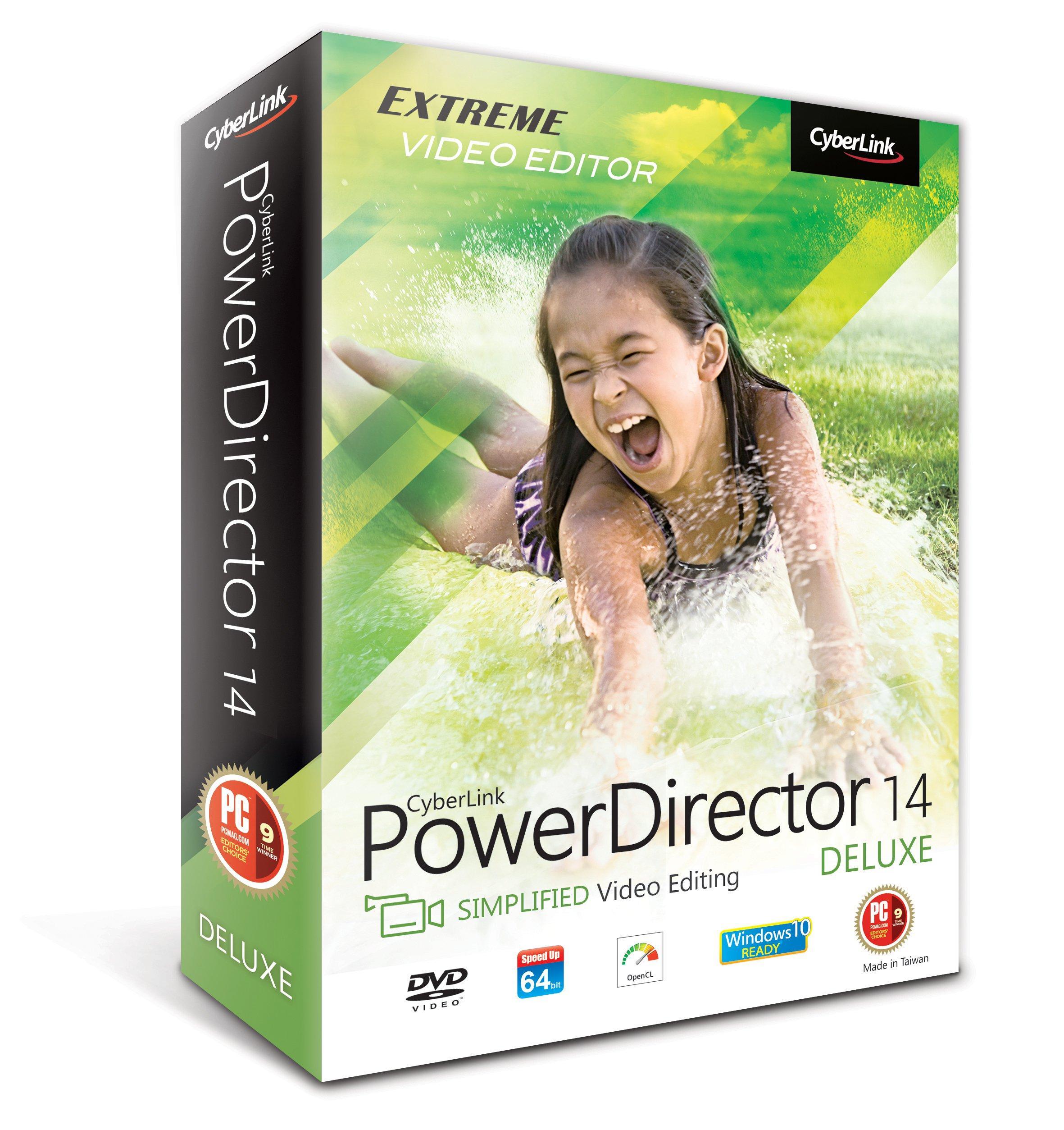 Logiciel CyberLink PowerDirector 14 gratuit sur PC