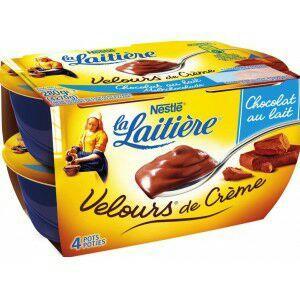 Sélection de produits en Promotions - EX : 2 Packs de Yaourts Velours de Crèmes la Laitière (via BDR + Appli )