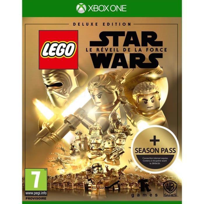 Jeu Lego Star Wars : Le Réveil de la Force sur Xbox One - Edition Deluxe