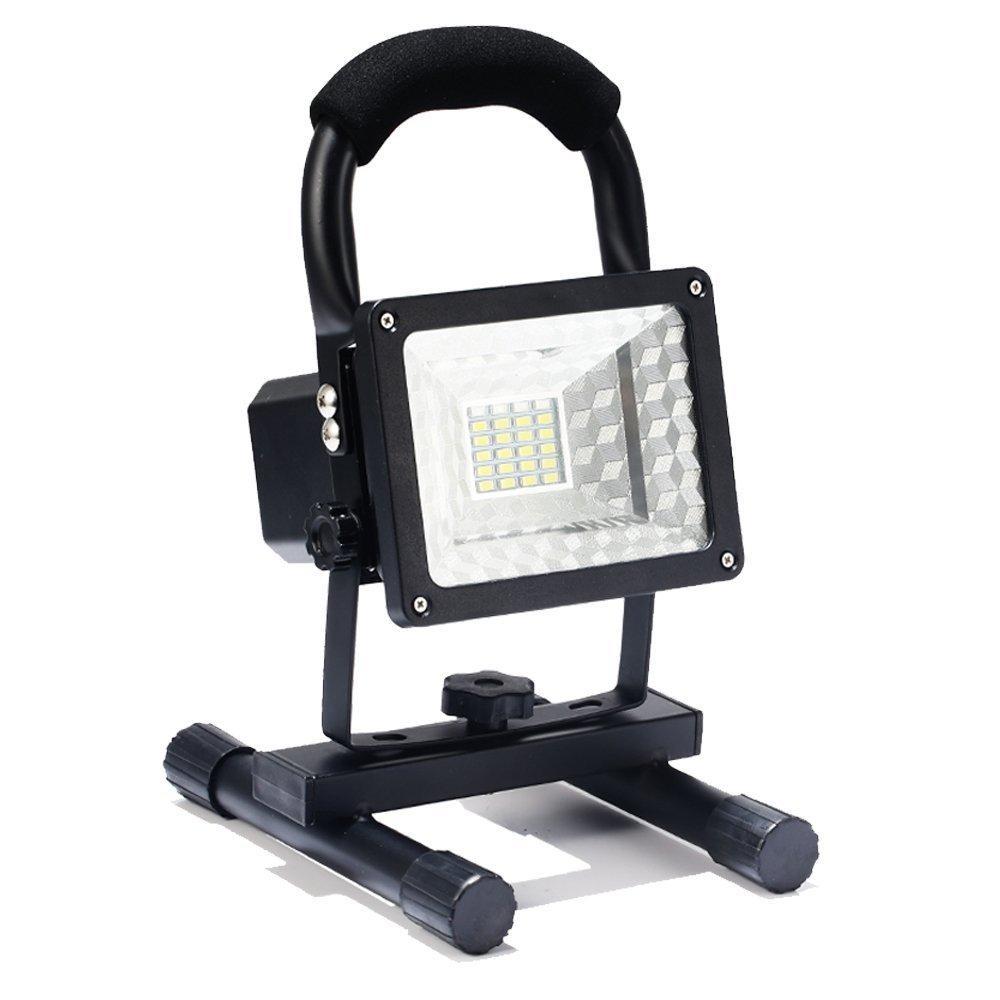 Projecteur lumière Portable et Rechargeable - 15W, Etanche et Leger