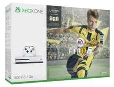 Console Microsoft Xbox One S 500go + Fifa 17 + Watchdogs 1&2 + 20€ bons d'achat