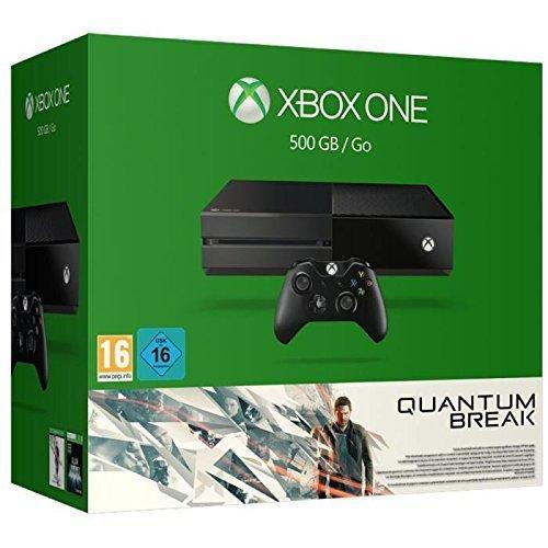 Pack Console Xbox One 500GO + Quantum Break et Alan Wake