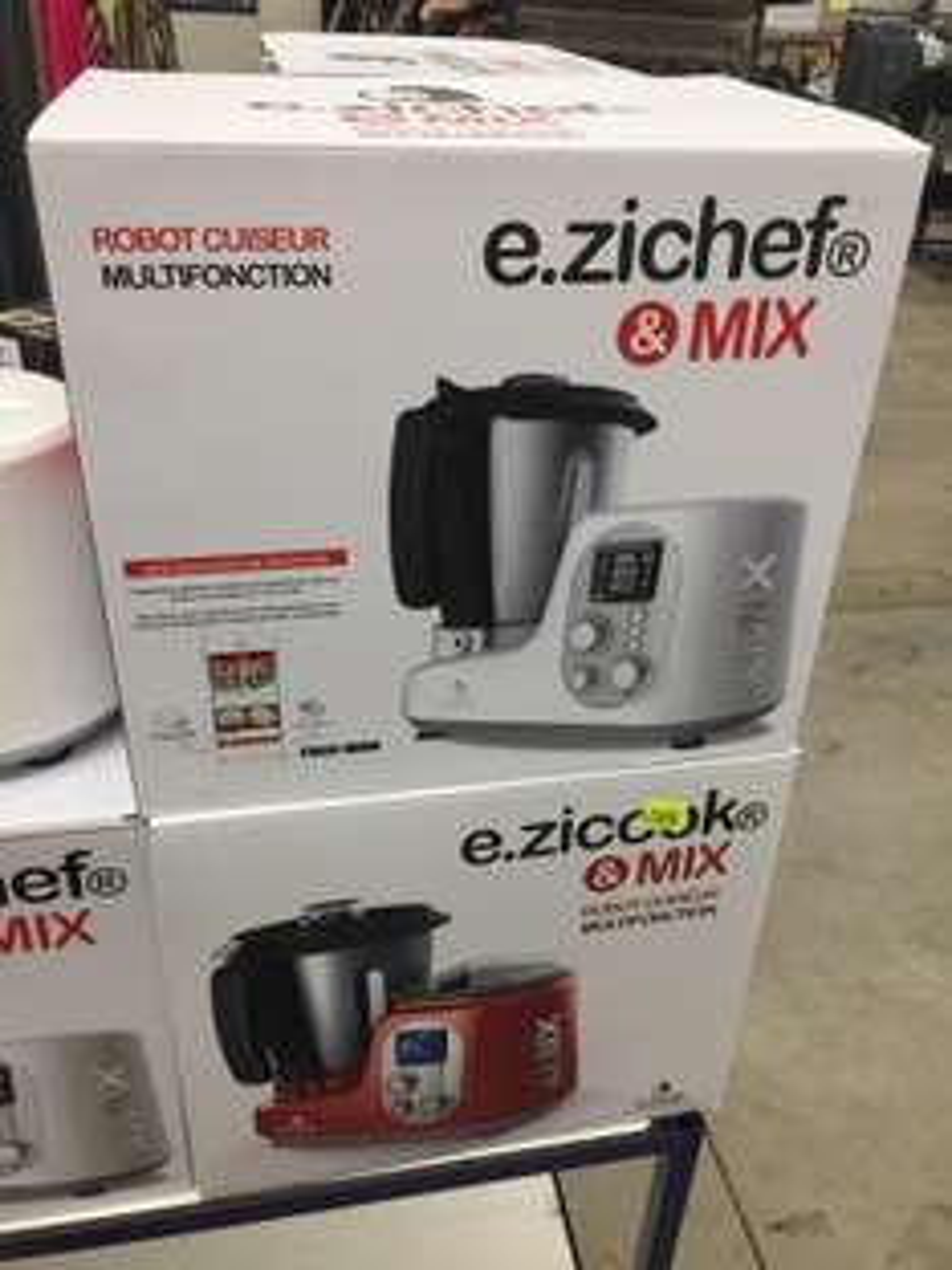 Robot cuiseur multifonction E Zichef Mix
