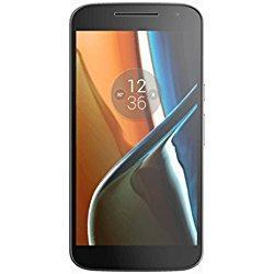 """Smartphone 5.5"""" Lenovo Moto G4 - 2 Go RAM, 16 Go, Noir ou blanc"""