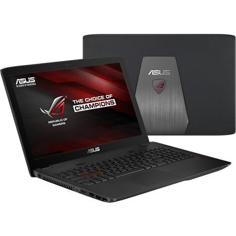 "PC portable 15.6"" Asus ROG GL552VW-DM862T - i5-6300HQ, 8 Go RAM, 1 To, GeForce GTX960M"