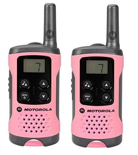 Paire de Talkies Walkies Motorola TLKR T41 - Rose