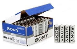 Lot de 48 pièces Sony New Ultra Piles Micro AA ou AAA (Frais de port : 9.99€)