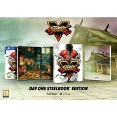 Street fighter V - édition steelbook  (PS4)