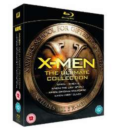 Coffret Blu-ray X-Men: The Ultimate Collection (5 Blu ray)