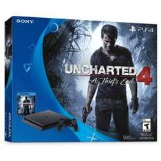 Pack Ps4 slim 1 To uncharted 4 + watch dogs 2 + assassin's creed syndicat special + casque gaming Ps4 Konix