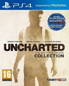 Uncharted: The Nathan Drake Collection sur PS4