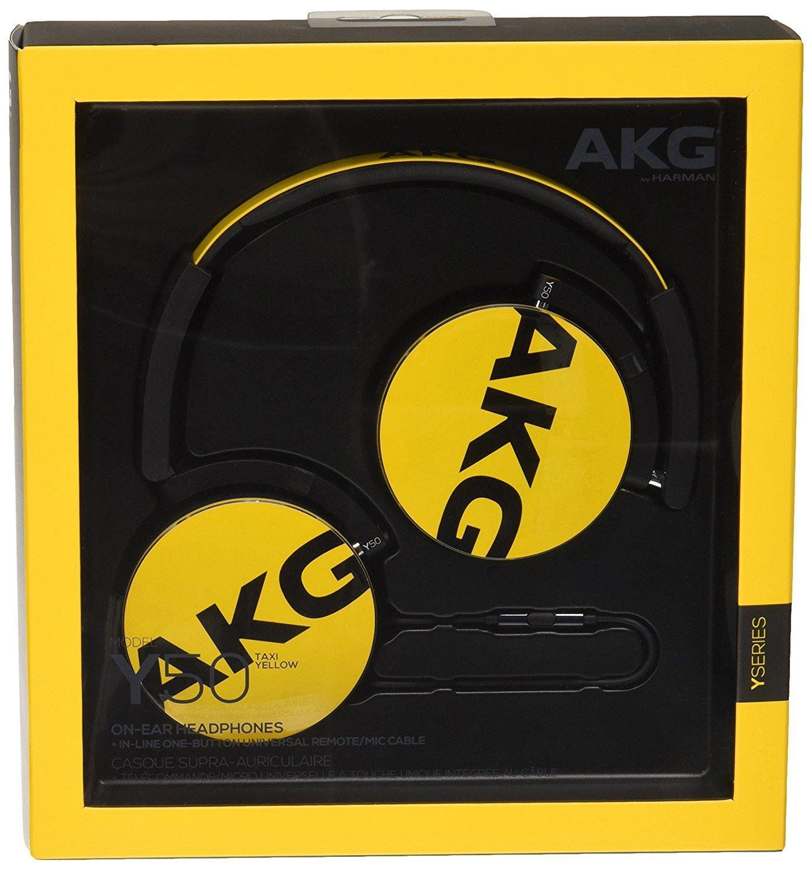 Casque audio AKG Y50 Jaune