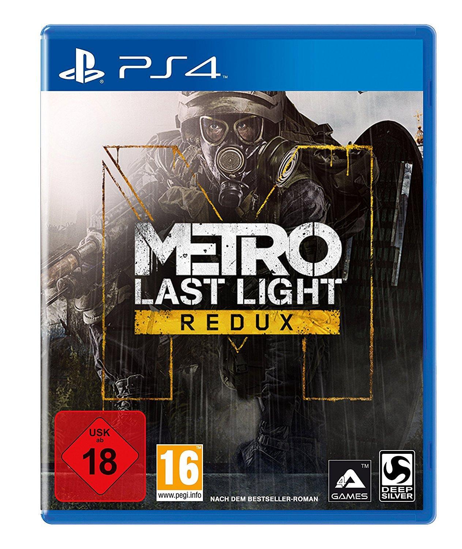 Jeu Metro: Last Light Redux sur PS4 à 14.02€ et Xbox One