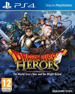 Jeu Dragon Quest Heroes sur PS4