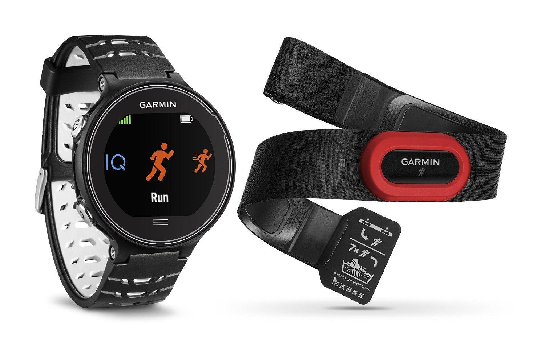 Montre connectée Garmin GPS Forerunner 630 HRM - Noir + Ceinture Cardio-fréquencemètre