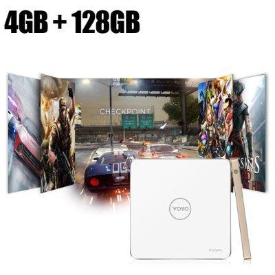 Mini PC Voyo V3 - Intel Cherry Trail X7-Z8700 Quad Core, 4 Go RAM, 128 Go SSD