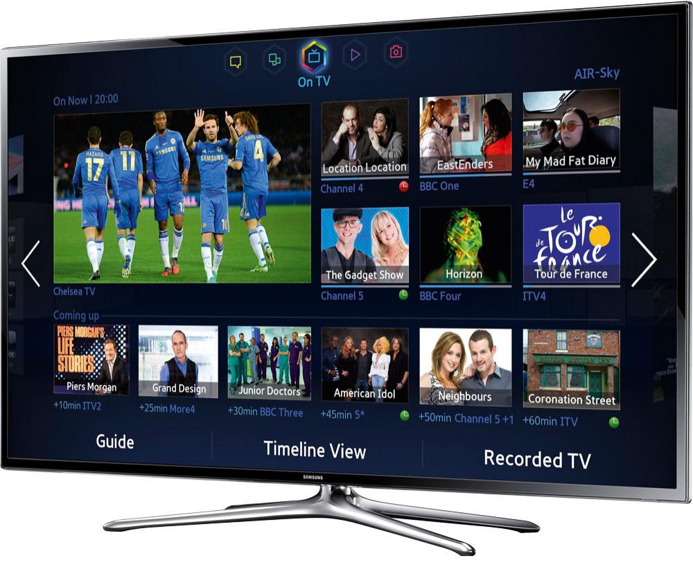 "TV 46"" Samsung UE46F6400  3D Smart TV"