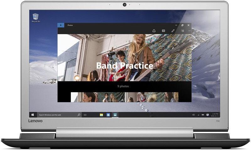 "PC Portable 17.3"" Lenovo ideapad 700-17ISK - Intel i5-6300HQ, 8 Go de Ram, 1 To, GeForce GTX 950"