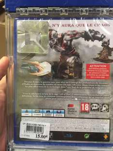 God Of War 3 remastered sur PS4