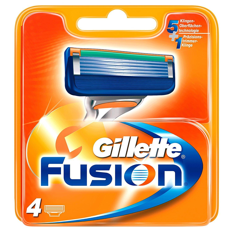 5 Lots de 4 lames de rasoir Gillette Fusion Rechange - 20 lames