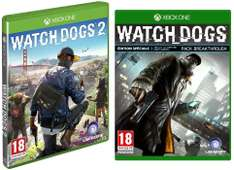 Watch Dogs 2 + Watch Dogs 1 Edition Spéciale sur Xbox One